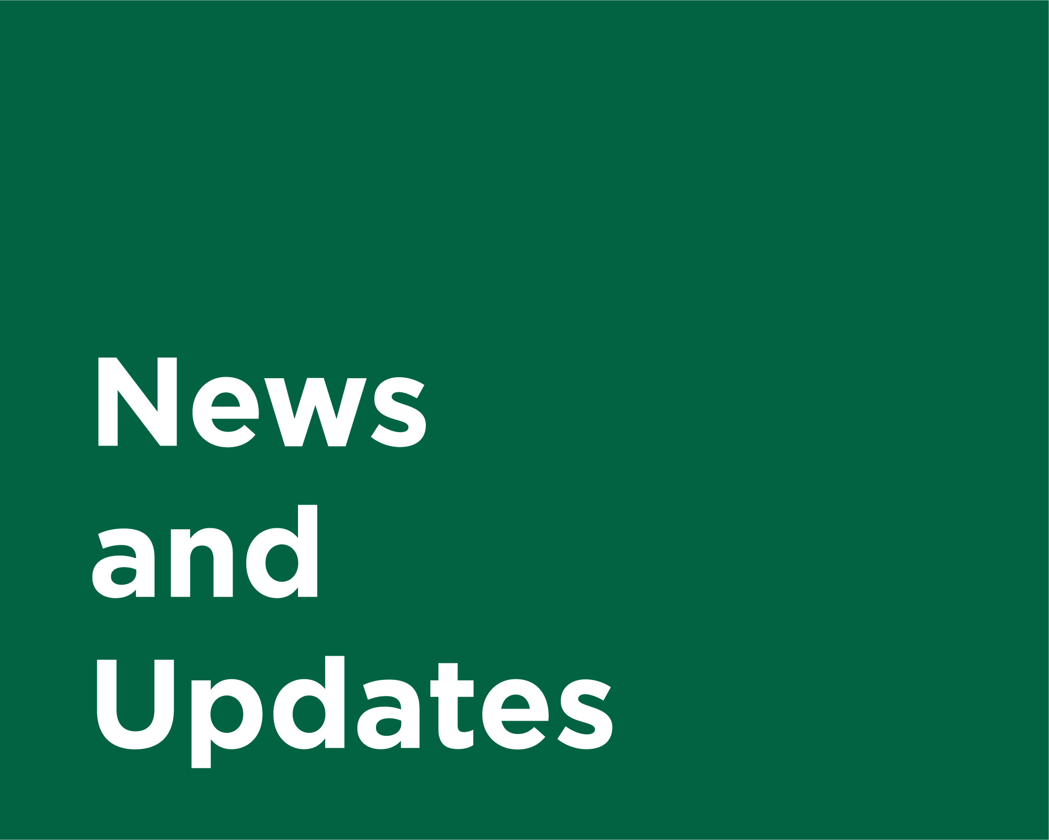 UVMHN News and Updates